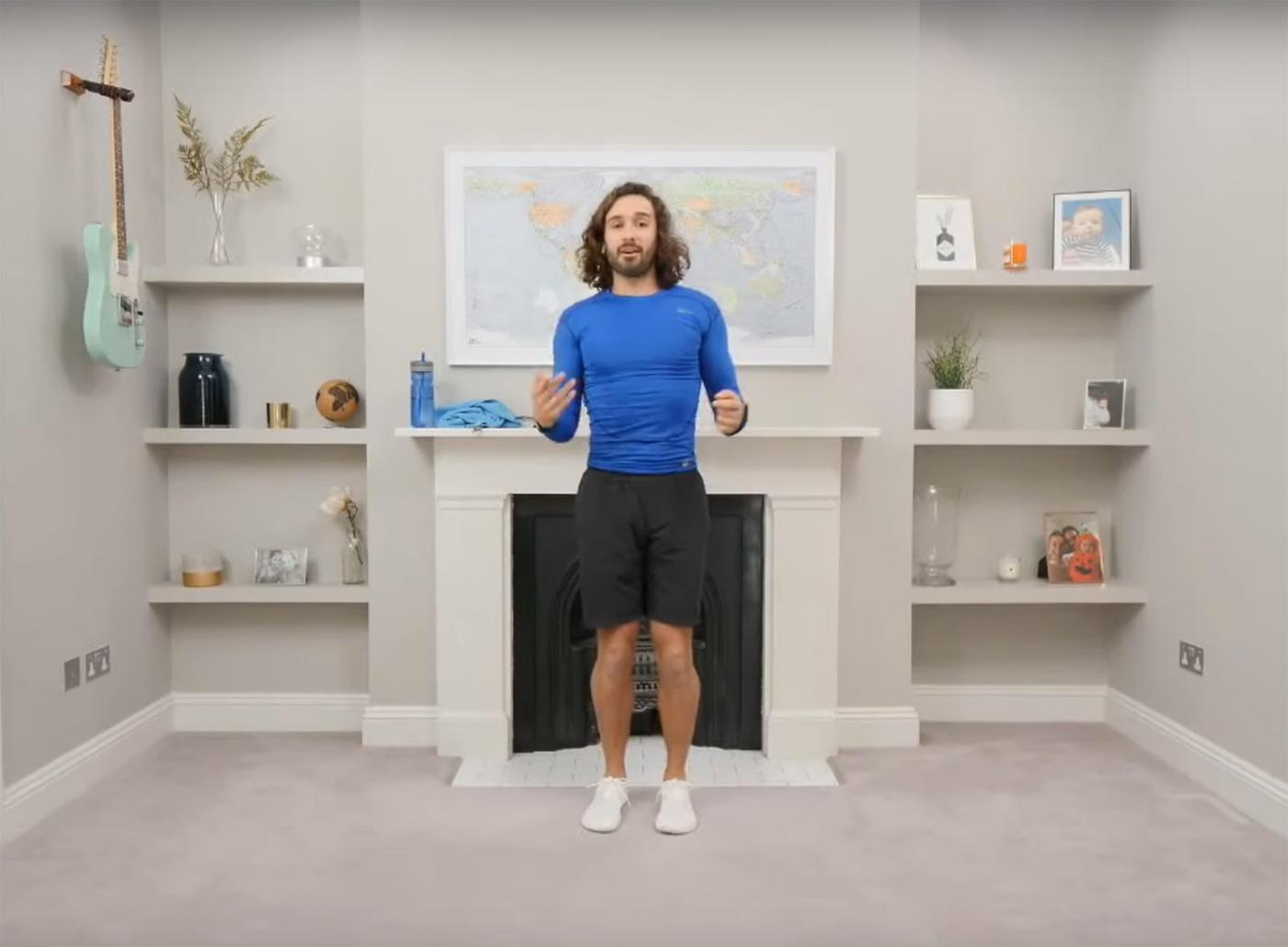 Personal trainer Joe Wicks has pledged to stream a live exercise session every weekday until schools are reopened / Youtube / The Body Coach
