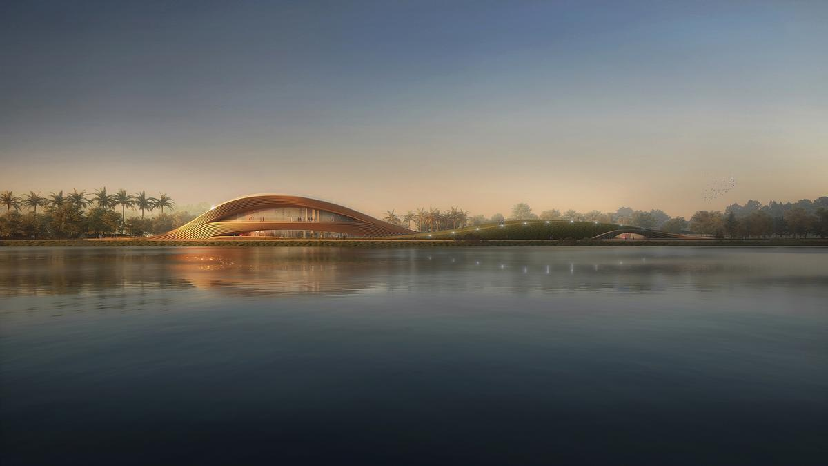 Construction work is expected to begin in 2022 and to be completed by 2027 / Kengo Kuma & Associates + K2LD Architects