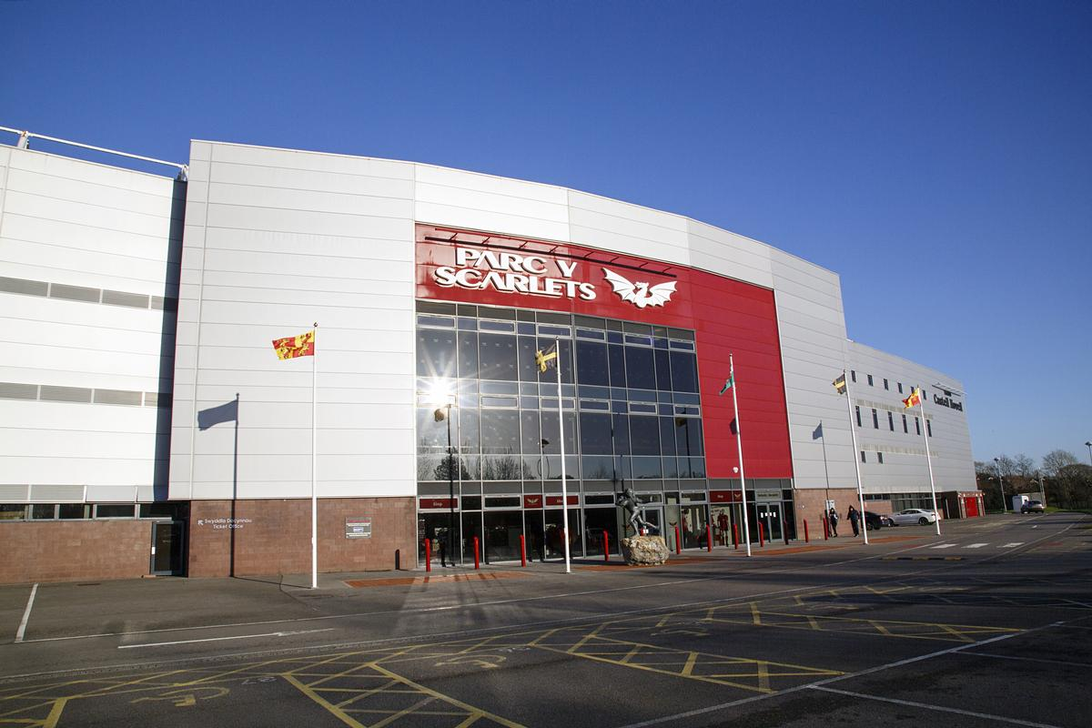 The stadium is the home of Pro14 rugby union club Scarlets / Shutterstock