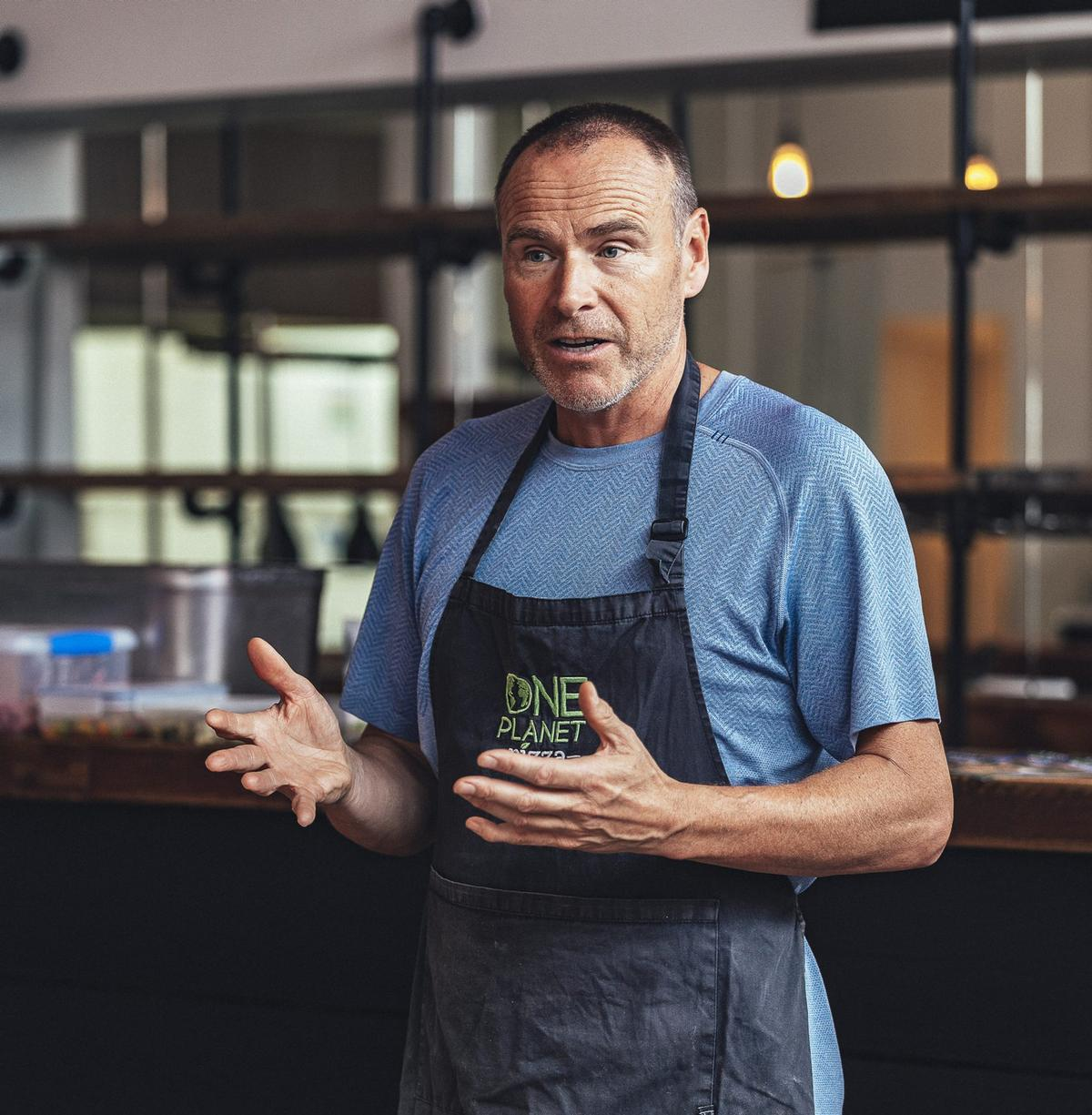 The pizzas will be made available through One Planet Pizza – a vegan food company set up by Leisure-Net founder and co-owner Mike Hill / One Planet Pizza