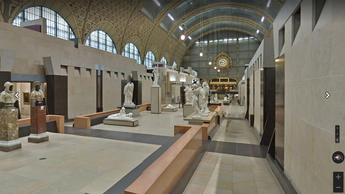 Google Arts & Culture offers virtual tours of museums and galleries during closures