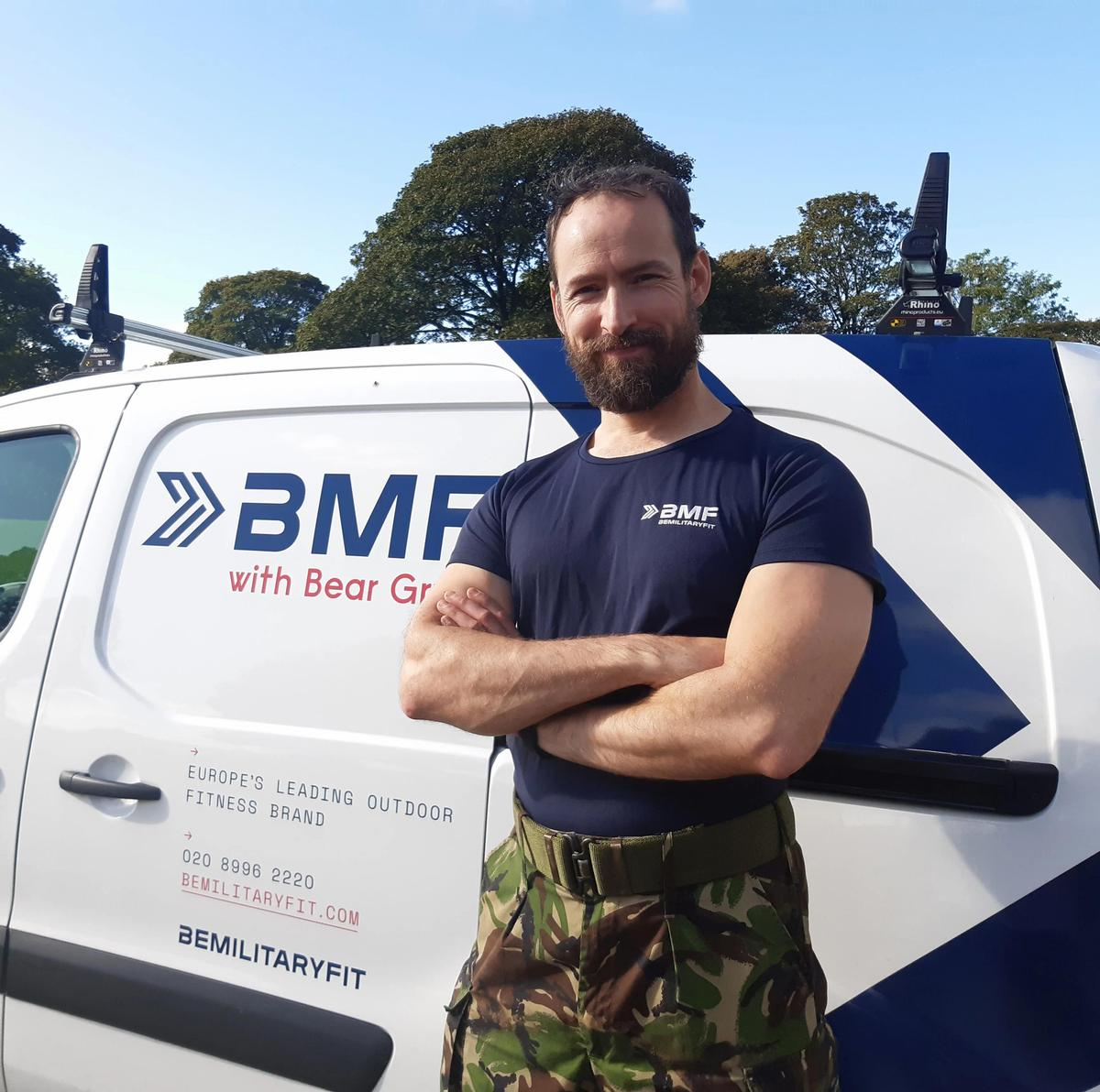 A number of BMF franchisees are ex-military staff / Be Military Fit