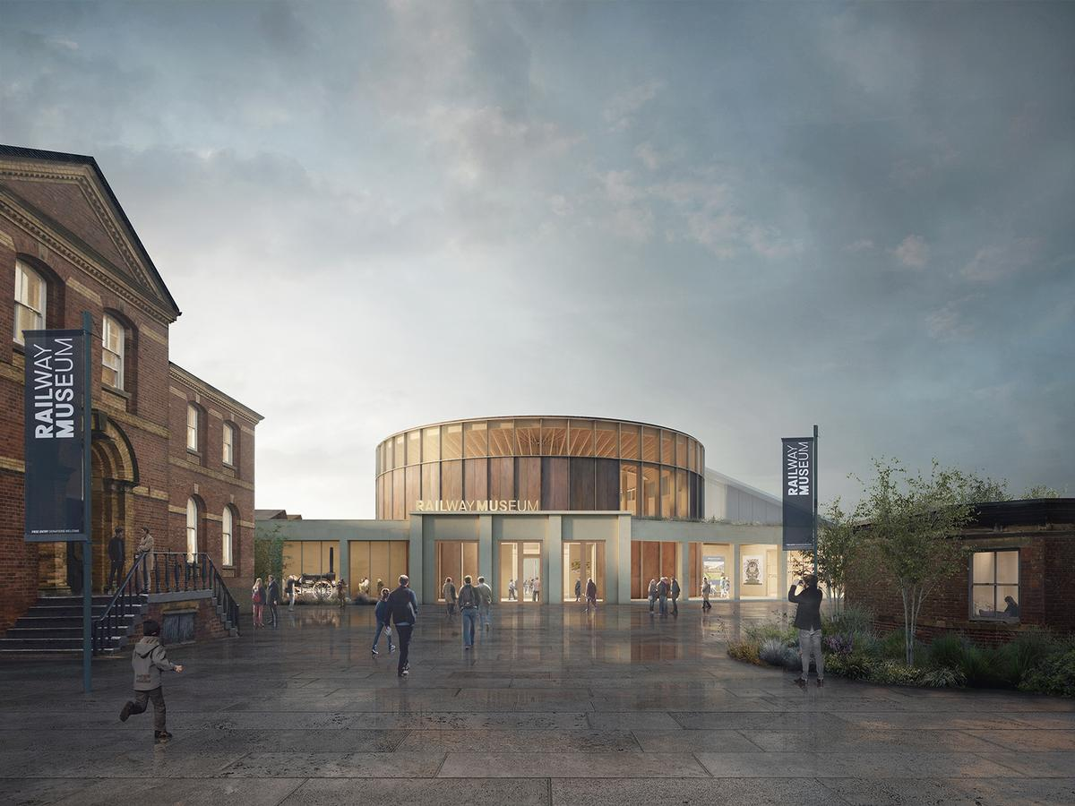 Feilden Fowles to create National Railway Museum's Central Hall