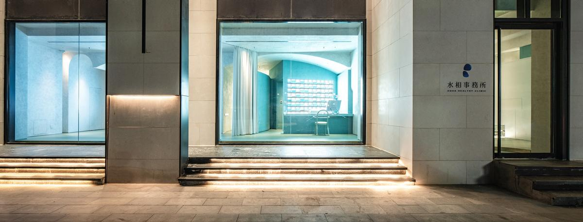 The facility covers an area of 280sq m (3,000sq ft) / Waterfrom Design
