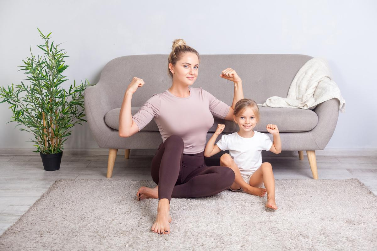 The campaign is designed to provide inspiration and trusted information to the public about how to stay fit at home / Shutterstock