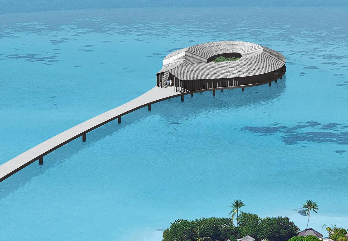 Yuji Yamazaki – the architect behind the world's first underwater villa is responsible for the spa's design