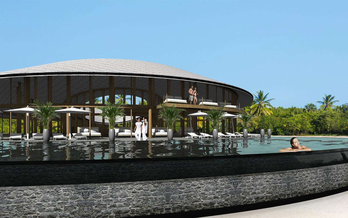 Banni Spa Wellness Centre will feature four treatment rooms with outdoor bathing facilities