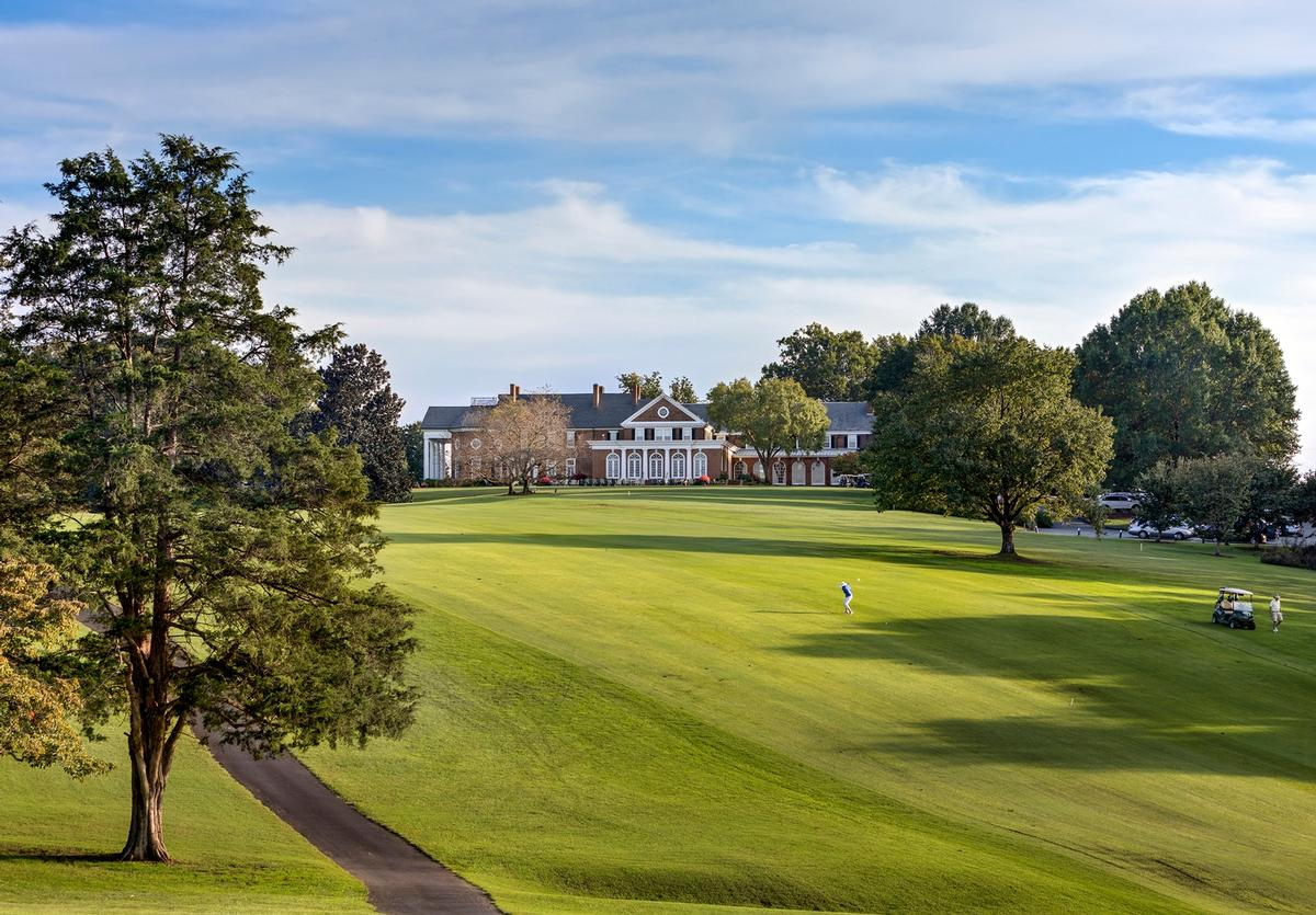 Farmington Country Club was established in 1927 / Francis Dzikowski / OTTO, courtesy Cooper Robertson