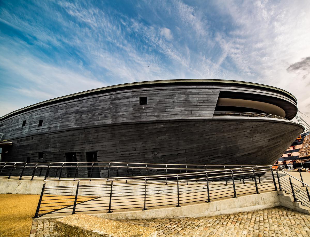 The museum generates 90 per cent of its revenue through visitors / Mary Rose Museum