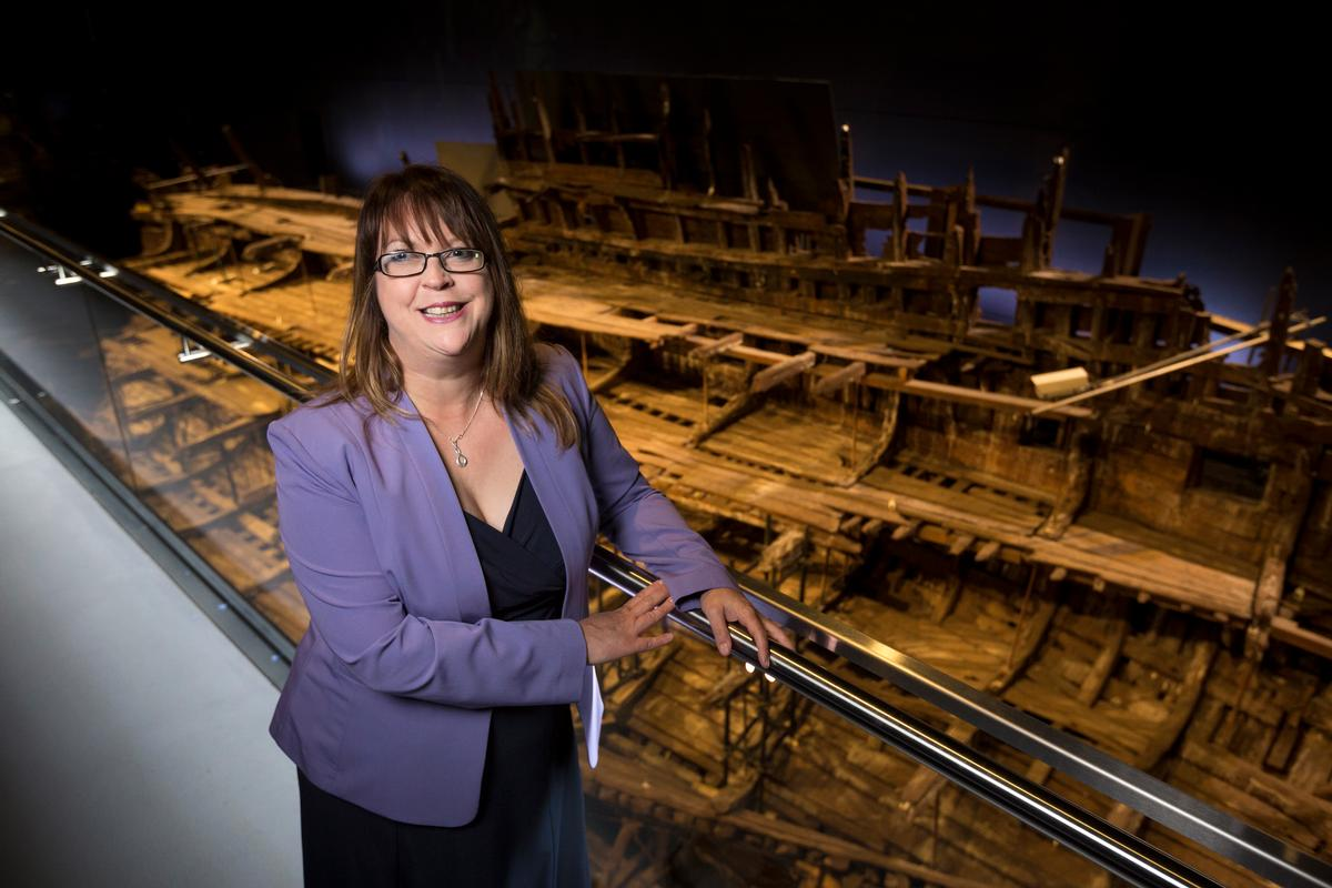 Bonser-Wilton has called on the government to make greater emergency funding available to Britain's independent museums / Mary Rose Museum