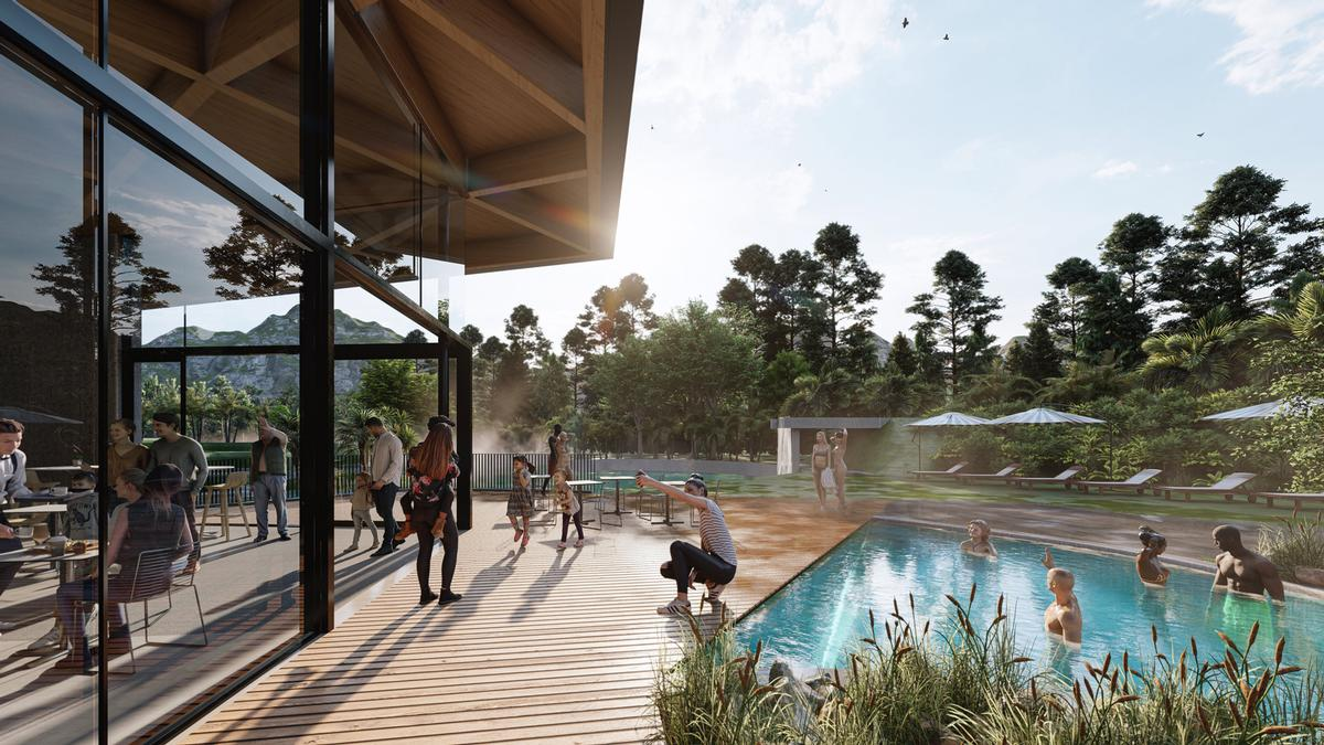 Opuke Thermal Pools and Spa is scheduled to open in January 2021 in New Zealand