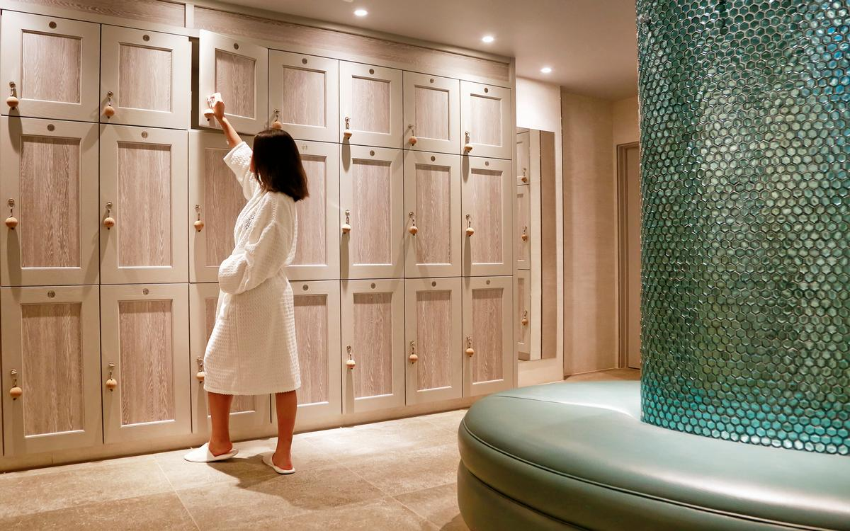 Crown Sports Lockers partnered with Ashton House Design on the £2m Lincombe Hall Hotel spa project