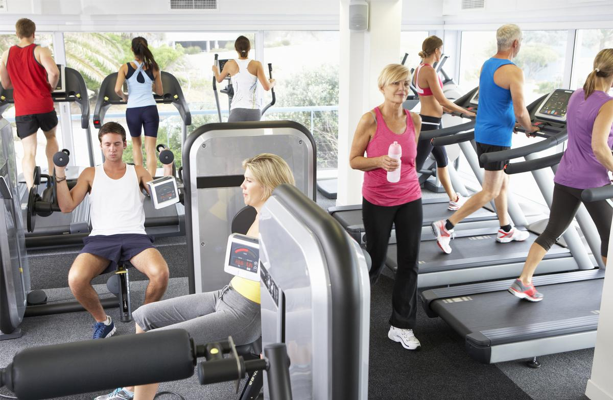 Fitness activities remain among the most popular forms of physical activities / Shutterstock