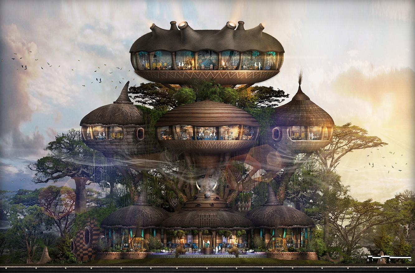 Bensley creating luxury 'human zoo' hotel concept for multinational project in Asia, Australia and Africa