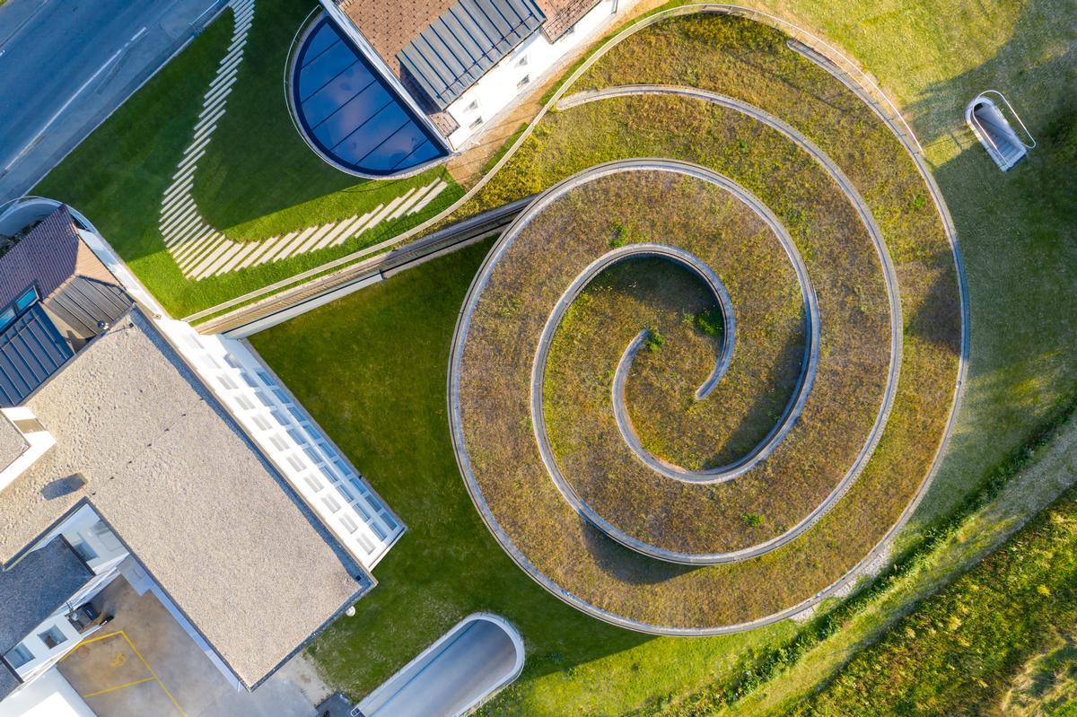 BIG won an architectural competition to design the Musée Atelier Audemars Piguet in 2014 / Audemars Piguet/Iwan Baan