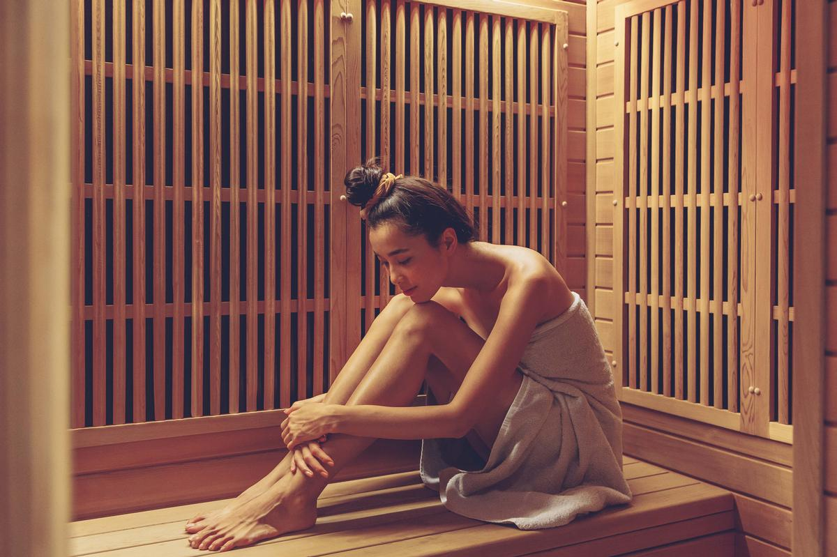 The programme will see guests using infrared sauna sessions to relax / Sangha Retreat by Octave Institute