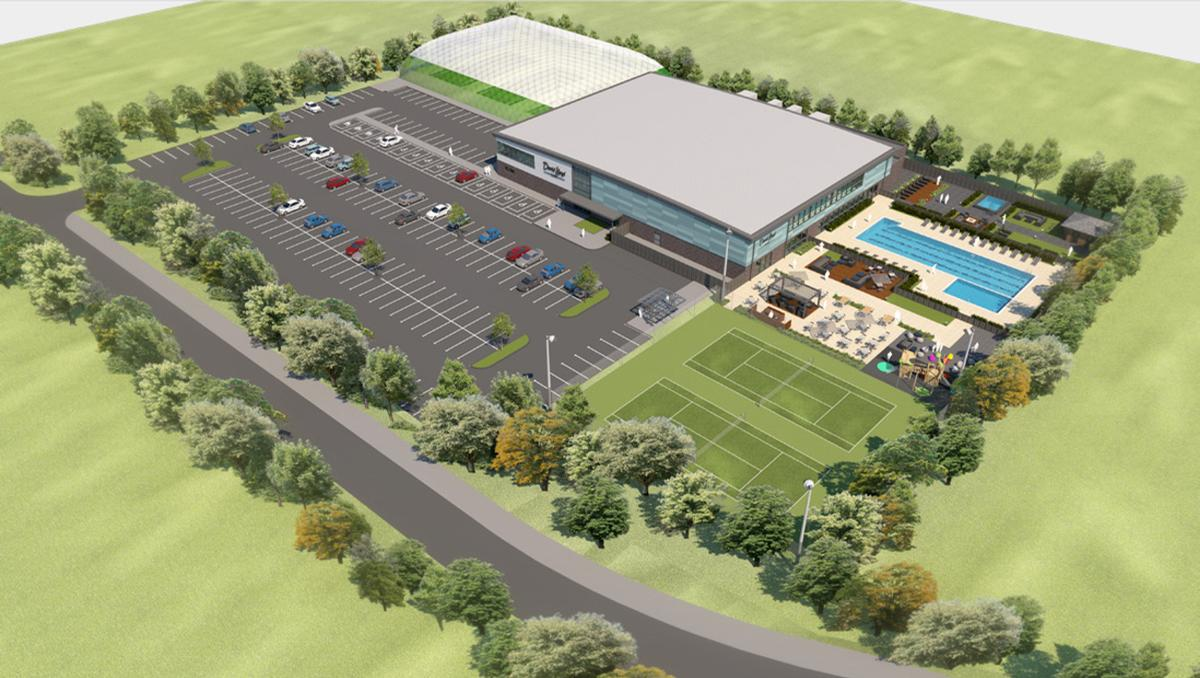 The 6,600sqm development will include a health club and spa as well as indoor and outdoor sports facilities / Albion Land