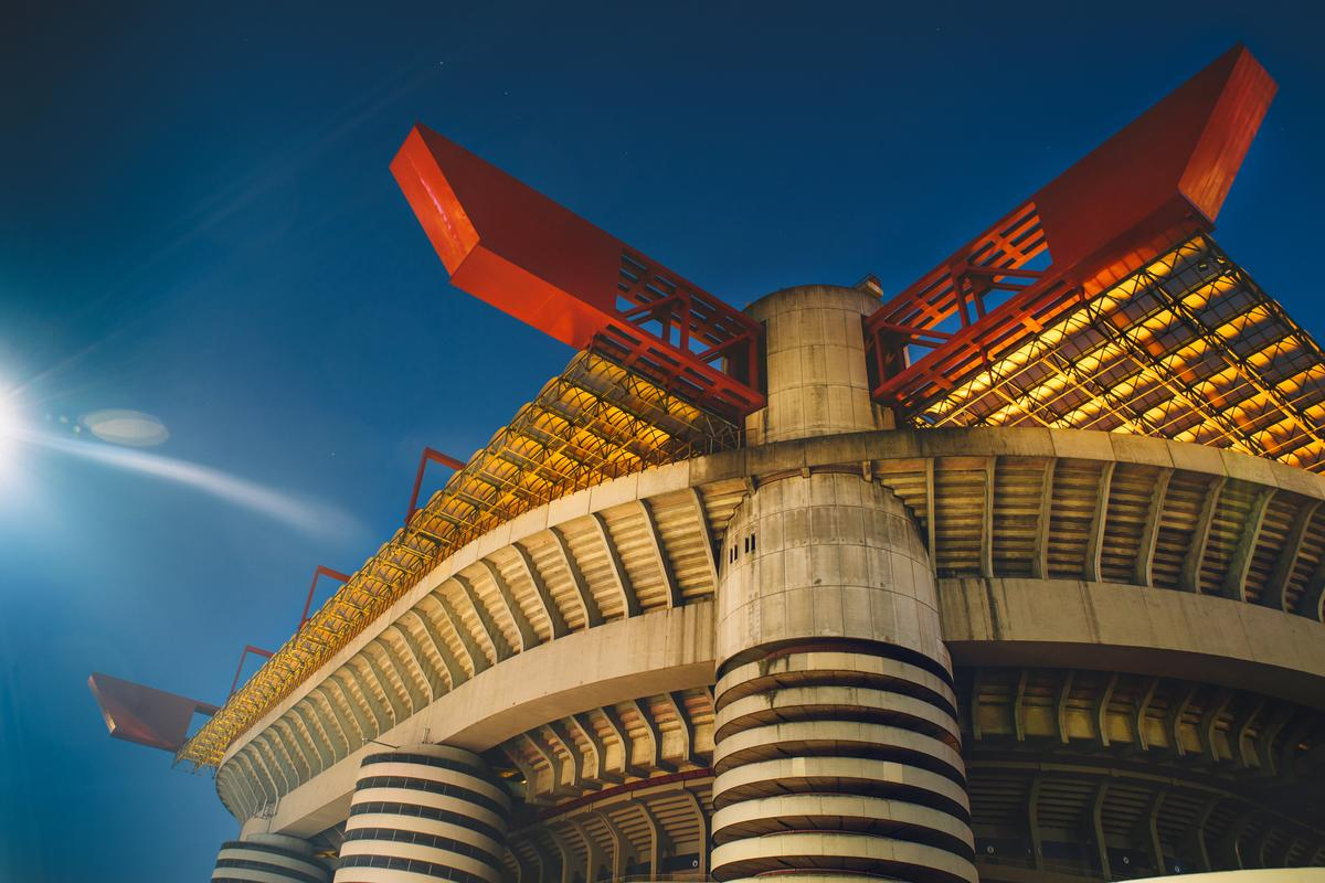 Despite its history, the San Siro has been deemed to have 'no cultural interest' / Shutterstock/David_Khelashvili