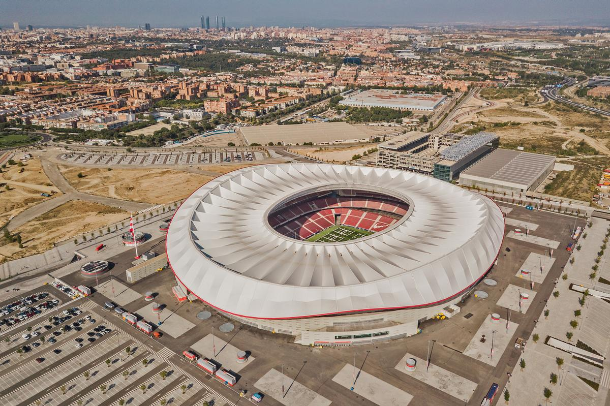 The 'sports city' project will be located next to the Wanda Metropolitano stadium in Madrid's San Blas-Canillejas district / Shutterstock/Alexandr Medvedkov