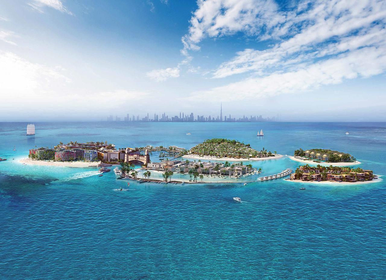 The destination will be spread across six islands / Kleindienst group