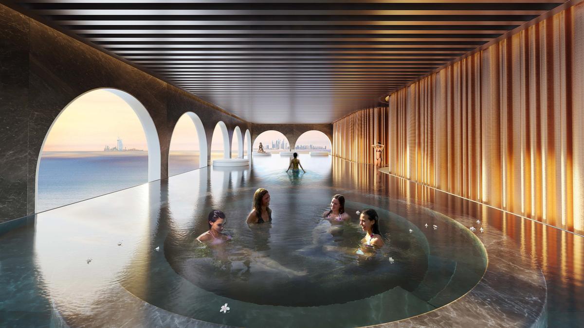 Portofino Hotel will include a ladies wellness centre called La Donna / Kleindienst group