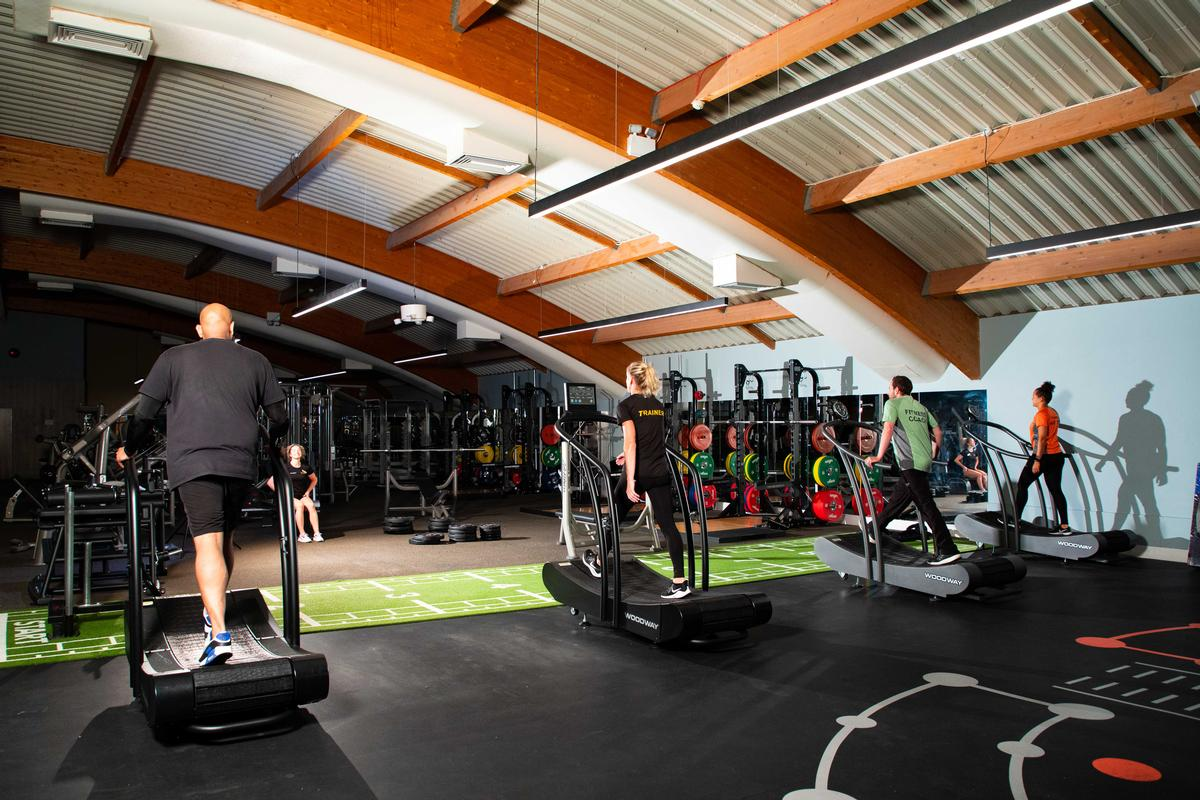 David Lloyd is trialling its social distancing protocols, ready for reopening / David Lloyd Leisure
