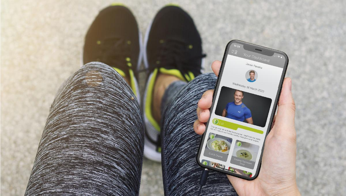 Fitness expert Jessie Pavelka has collaborated with Fisikal to create the new JP4 app