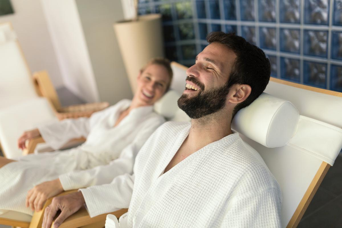 The Good Spa Guide's survey revealed that men were the most eager to return to spas straight away, with 51 per cent of all male respondents agreeing / Shutterstock/ NDAB Creativity