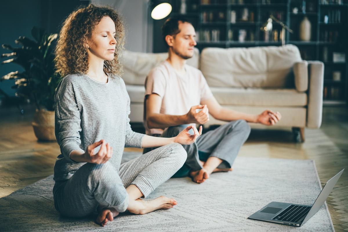 The two-day retreat will feature multiple meditation and movement classes / Shutterstock/ Mariia Korneeva