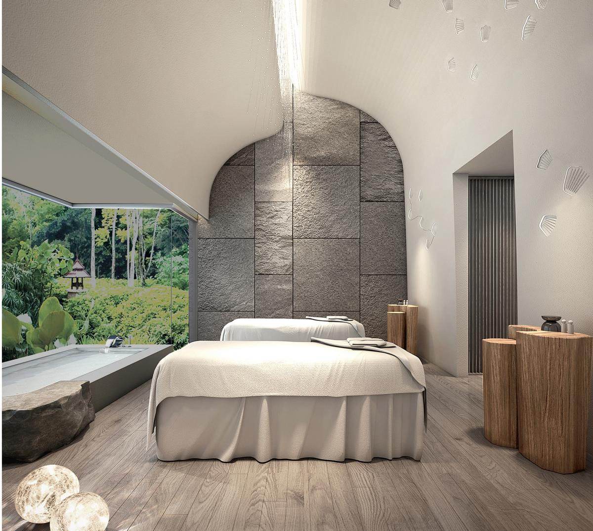 The spa will have eight treatment rooms / Banyan Tree