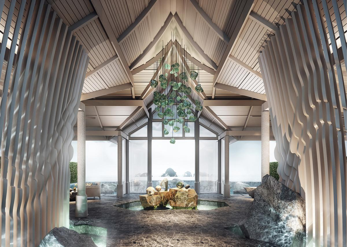 In addition to the spa, resort facilities will include a kids' club, wedding deck and conference room / Banyan Tree