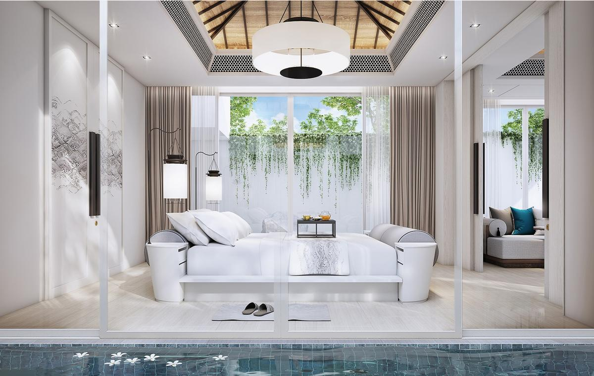 The resort will feature 72 guestrooms / Banyan Tree