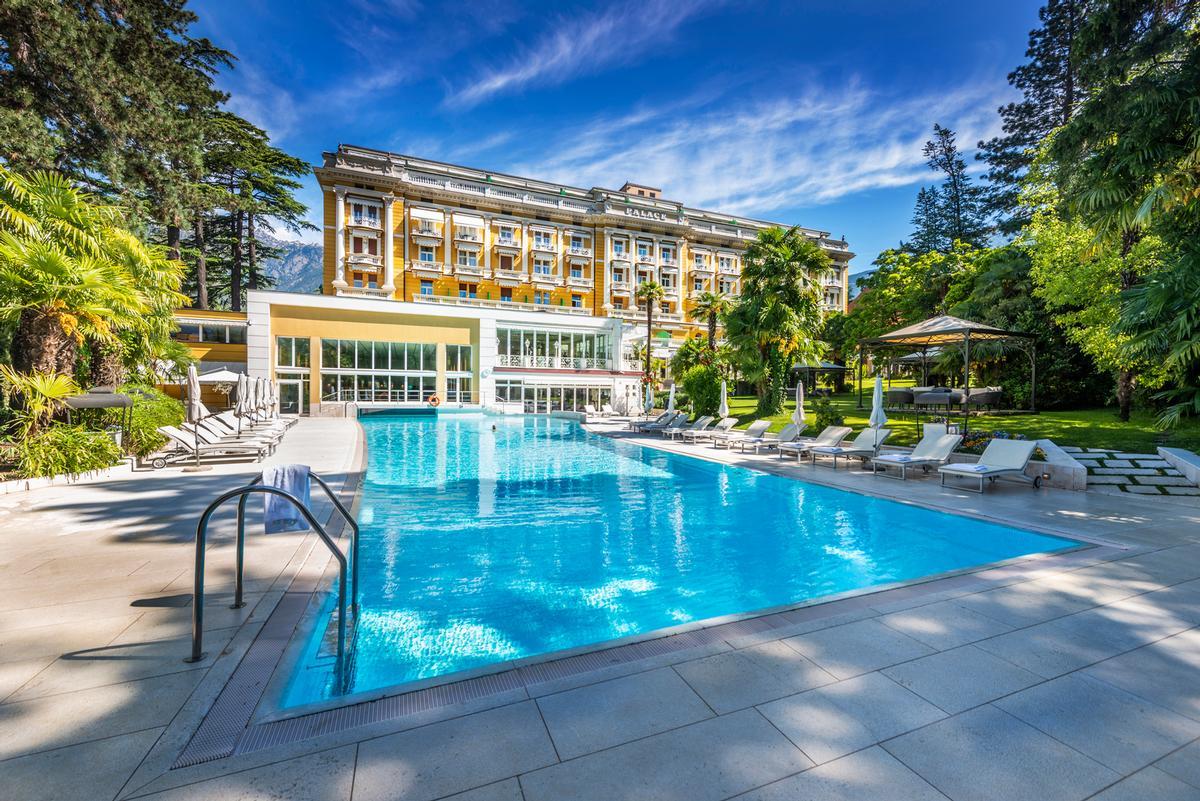 Palace Merano has reopened its hammam, sauna and two pools / Palace Merano