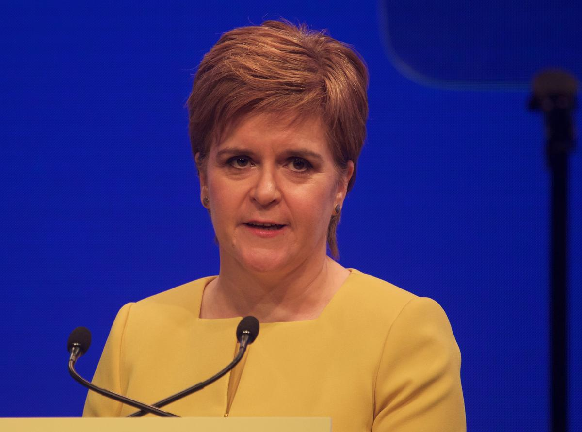 Sturgeon said leisure facilities in Scotland would remain in lockdown 'well into July' because she believed they were 'hotbeds' for spreading coronavirus / Shutterstock/Terry Murden