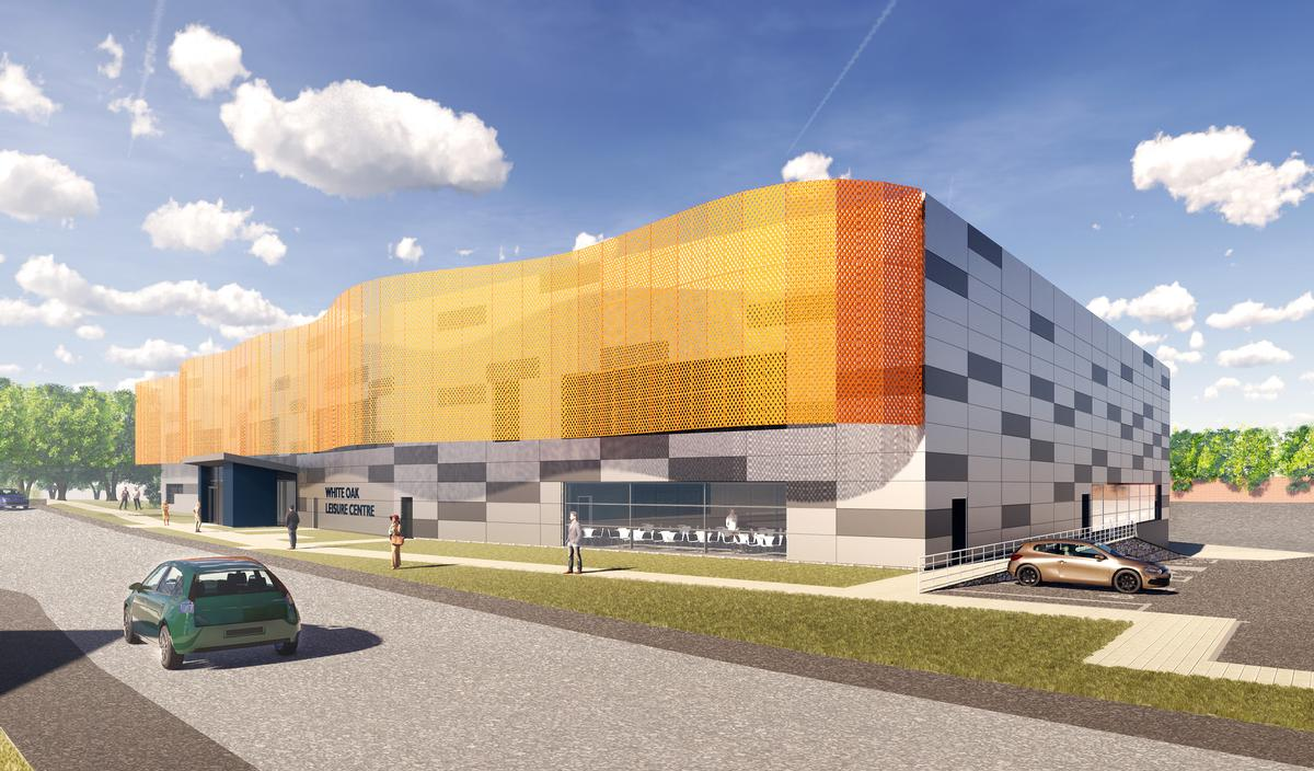 The £20m White Oak Leisure Centre will include a 25m swimming pool and a health club with 100-station gym floor / Alliance Leisure