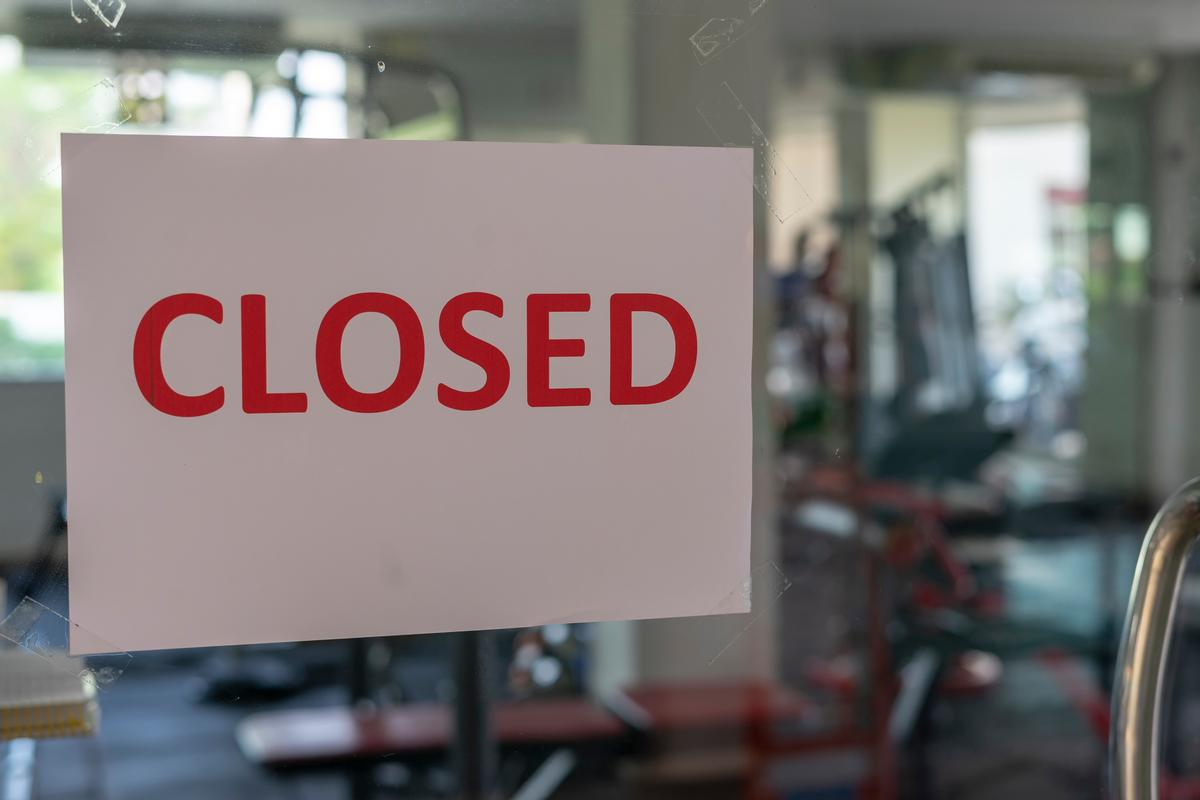 The government will establish a taskforce to help gyms get ready to reopen / Shutterstock/Neptunestock