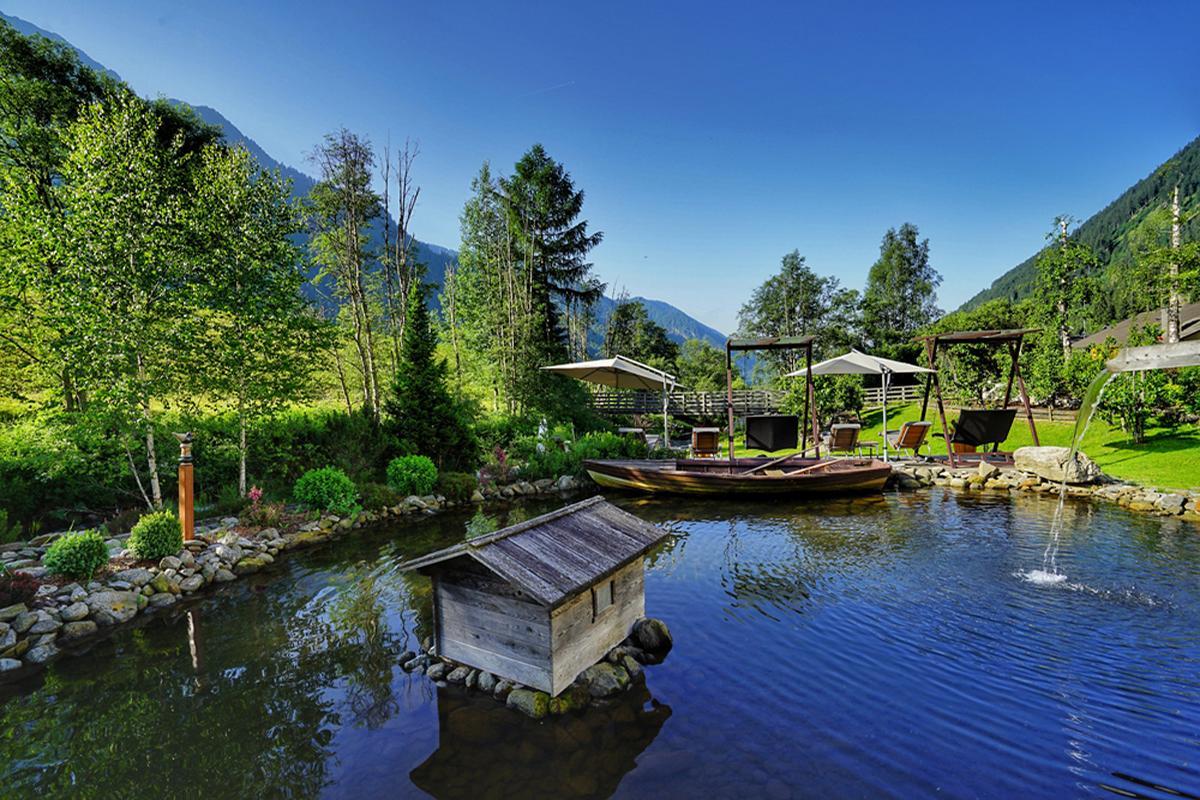 Hotel Quelle's new Wellness Garden concept has transformed the hotel's 5,000sq m gardens into an outdoor spa / Hotel Quelle