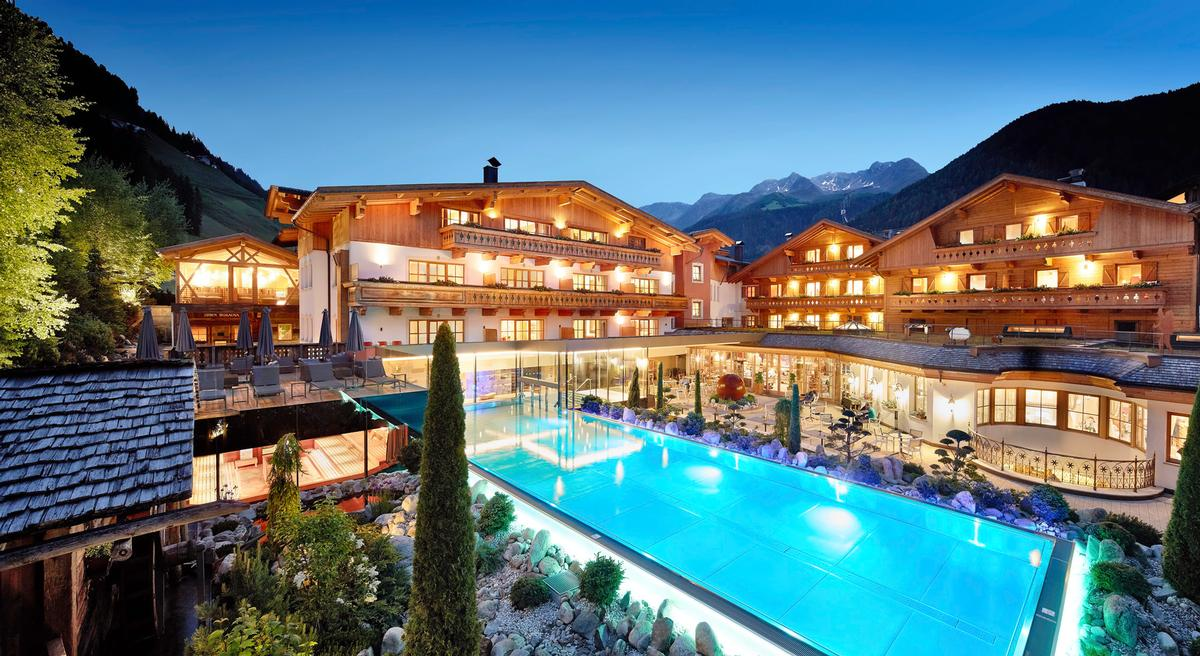 The Italian resort is home to a 5000sq m wellness centre / Hotel Quelle