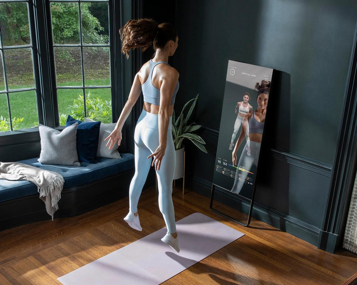 Mirror is an interactive workout platform which provides live and on-demand fitness classes, as well as personal training, in a variety of workout genres / Mirror