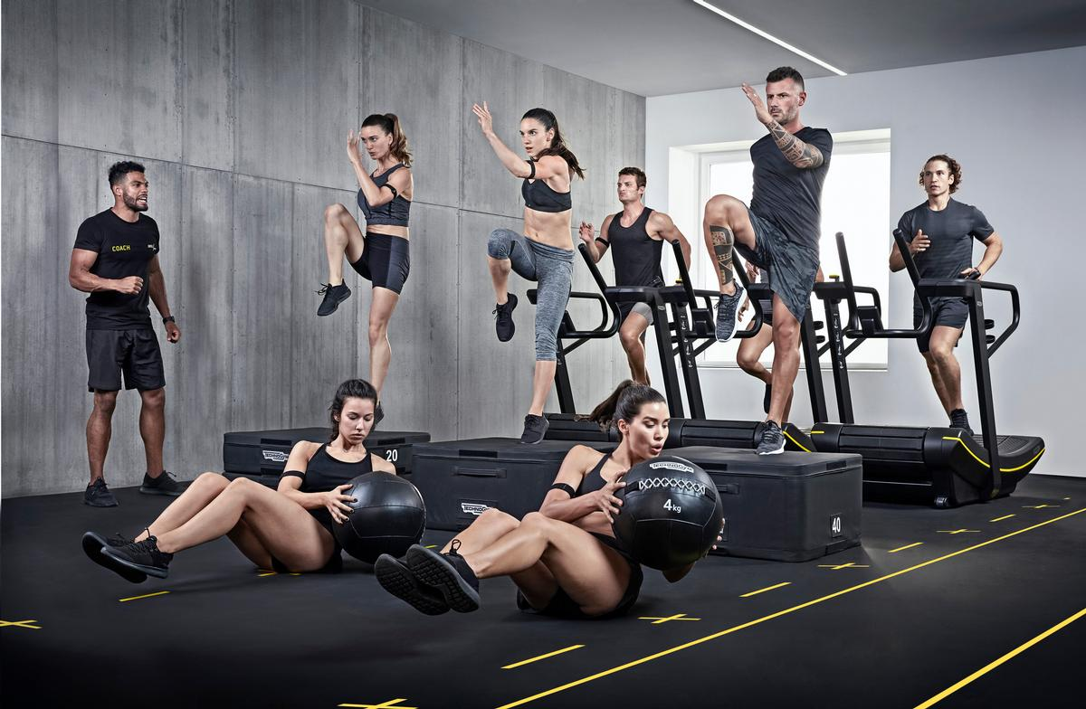 Technogym is creating its own content, as well as enabling operators to stream their own classes / Technogym