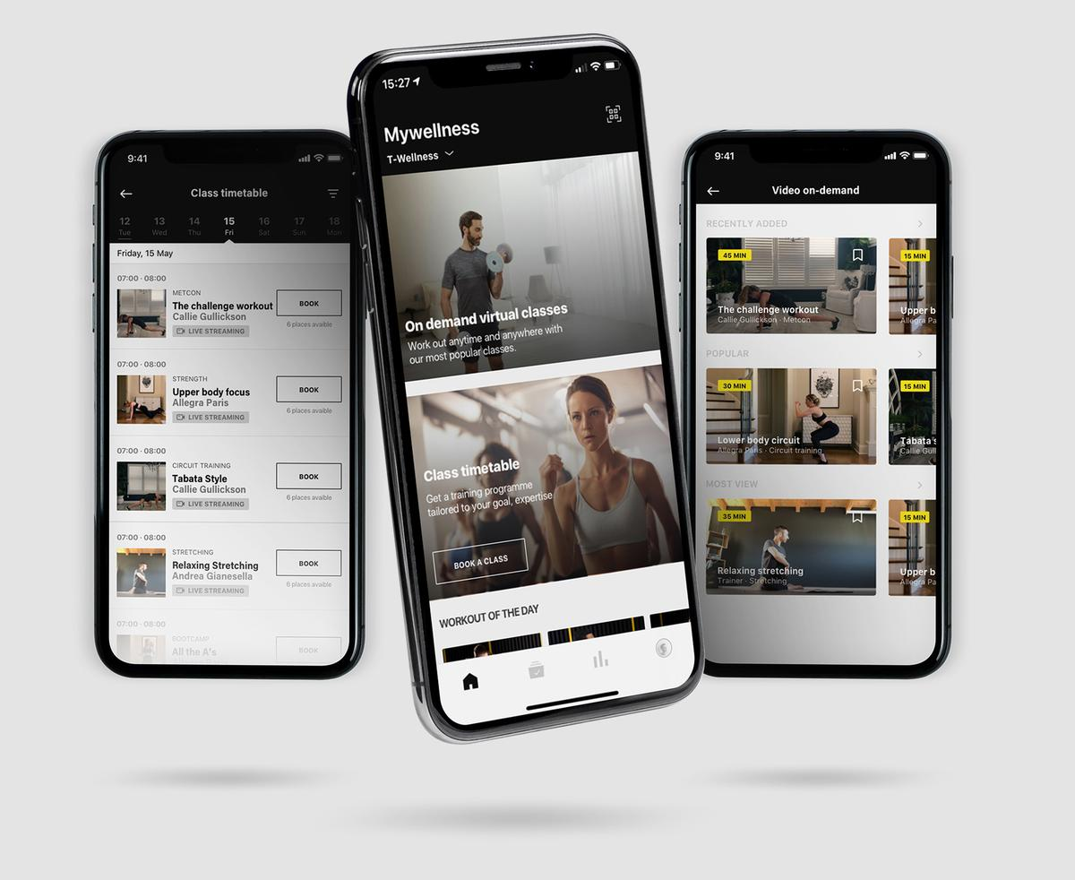 The new features are part of the launch of the 5.0 version of the Mywellness platform / Technogym