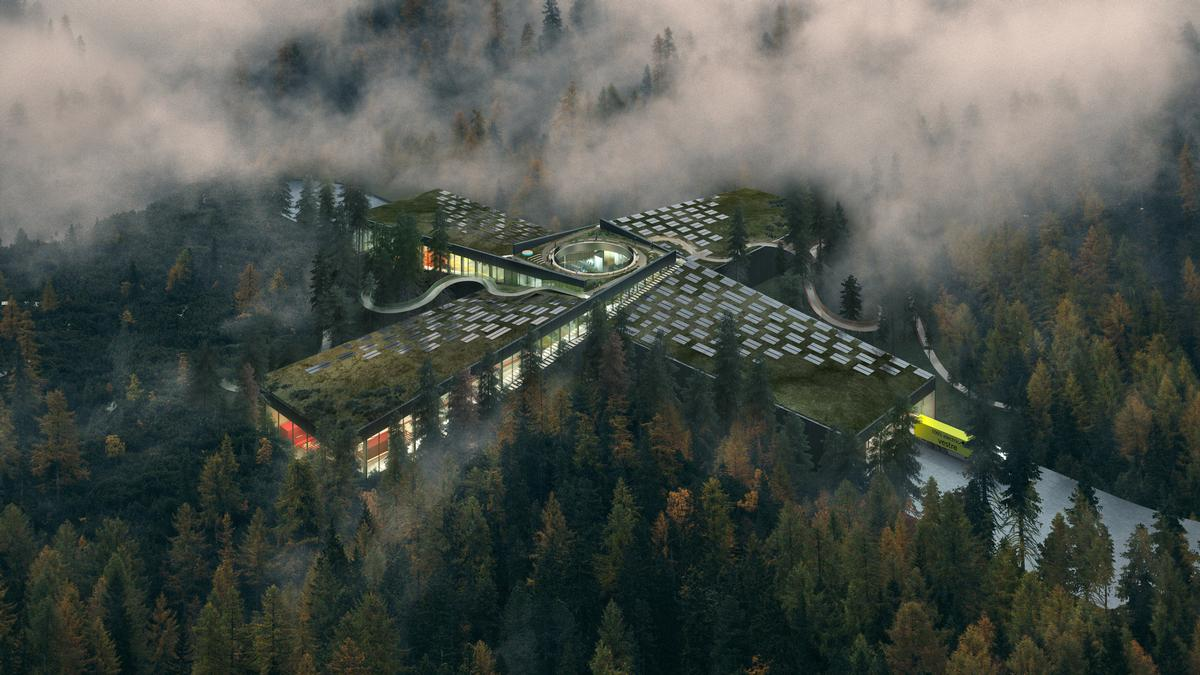 The Plus will include a visitor centre and a 300-acre park / Vestre/Bjarke Ingles Group
