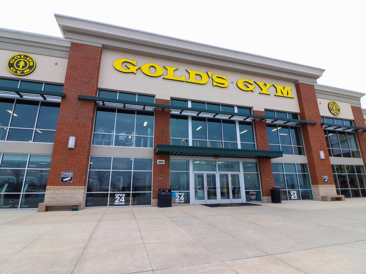 RSG Group will take over Gold's Gym, which currently has 61 company-owned gyms and more than 600 franchised locations / Shutterstock.com/Marboo Whisnant