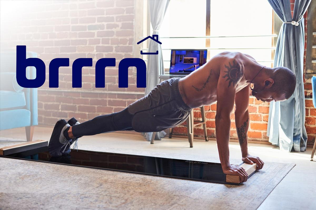 The launch of the Brrrn Board is part of plans to create a new, affordable category of at-home fitness / Brrrn