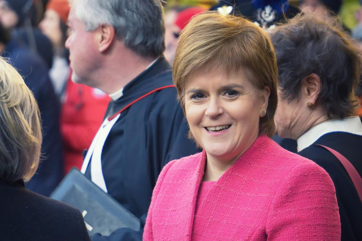 First Minister of Scotland Nicola Sturgeon has confirmed that the Scottish spa, beauty and wellness sector can reopen / Shutterstock/ Ludovic Farine