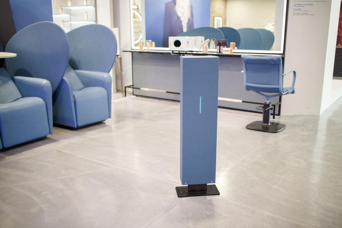 The new device sanitises any spa room continuously