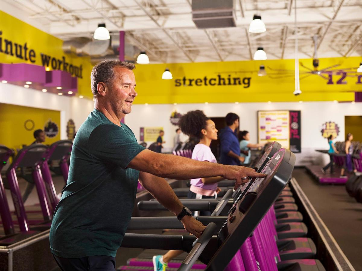 Planet Fitness' total revenue in Q2 fell to US$40.2m – a drop of 77.9 per cent on the same period in 2019 / Planet Fitness