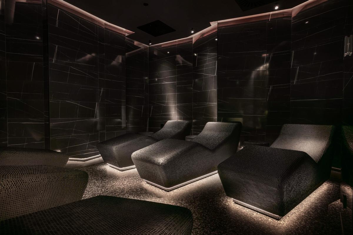 The nine-treatment room spa has been reimagined with the help of thermal specialists, Klafs / Lošinj Hotels & Villas