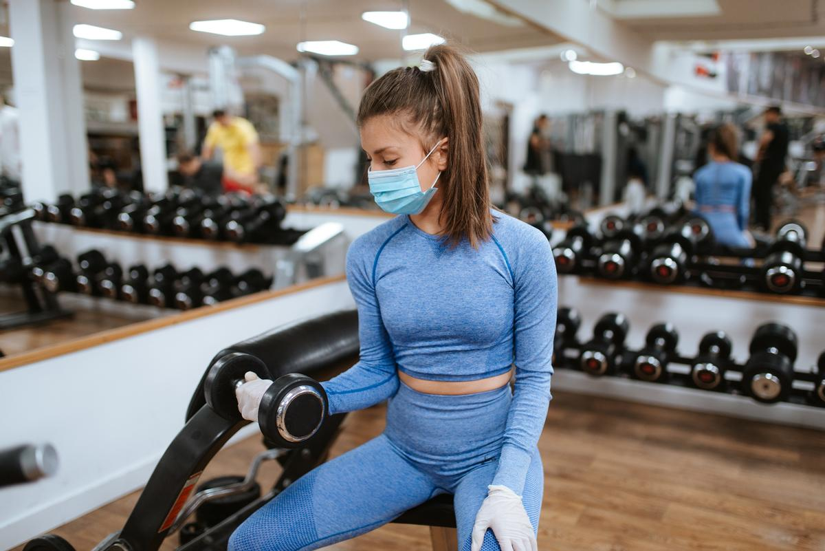 Gyms, fitness studios, sports courts and swimming pools in the city of Bradford were forced to close their doors on 1 August / Shutterstock.com/StrDr stock