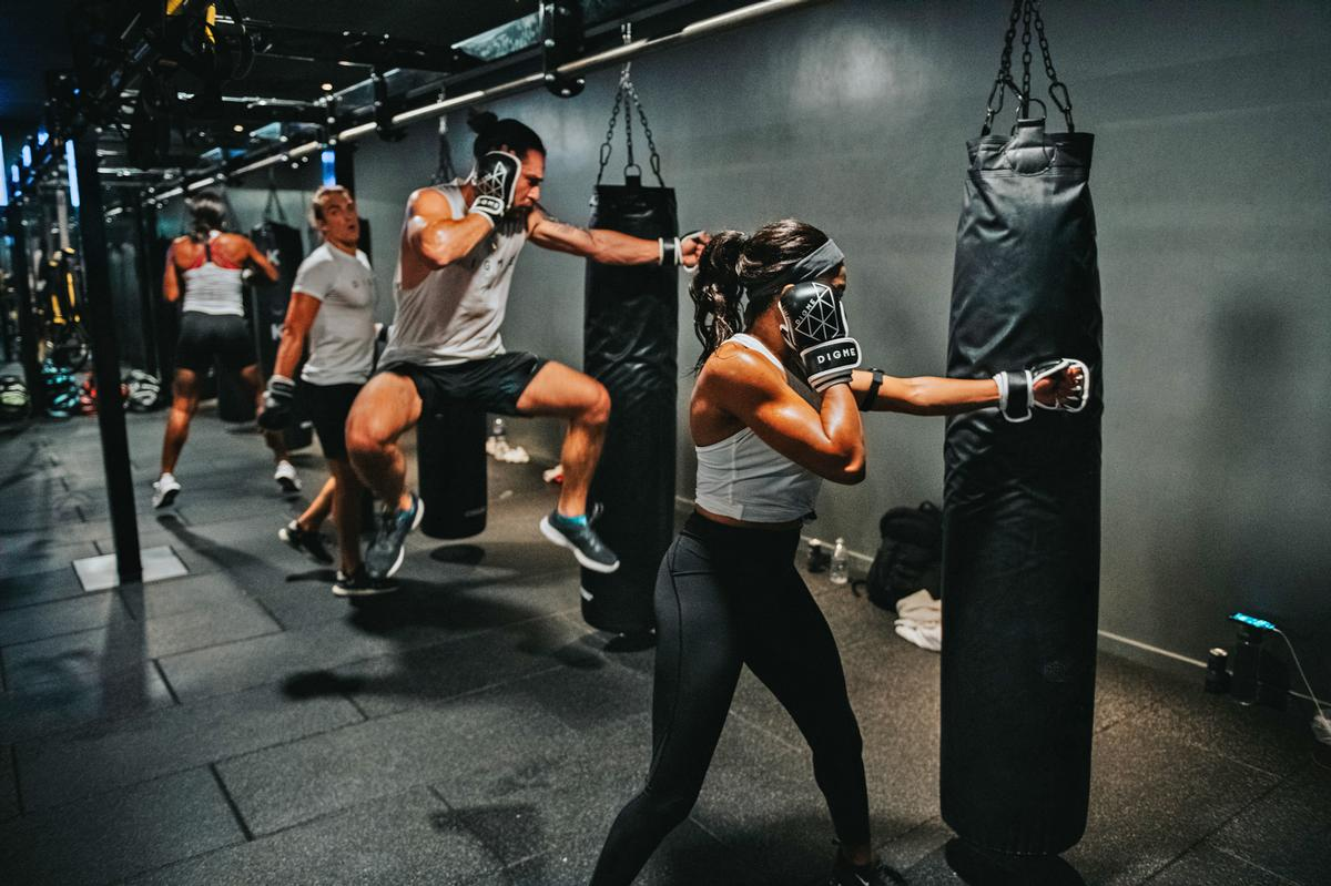 Digme offers workouts focusing on indoor cycling, HIIT and yoga / Digme